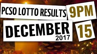 Lotto Results Dec 15, 2017, 9PM ft. Ez2, Swertres, 4D, 6-45 & 6-58