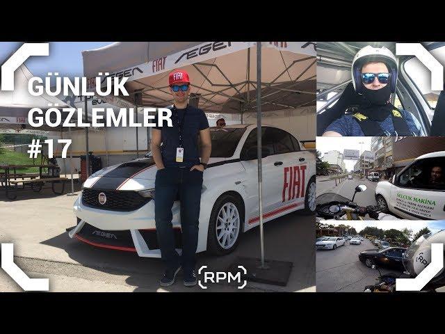 Fiat Egea ile Yarıştık - Tehlikeli Anlar - Bayırda Panik Fren #17 [RPM]