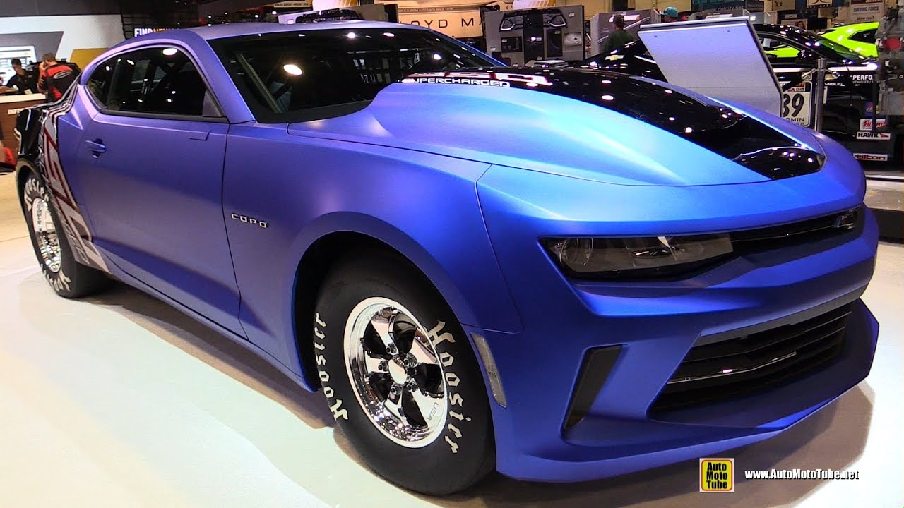 2017 Chevrolet Copo Camaro Drag Race Car - Exterior ...