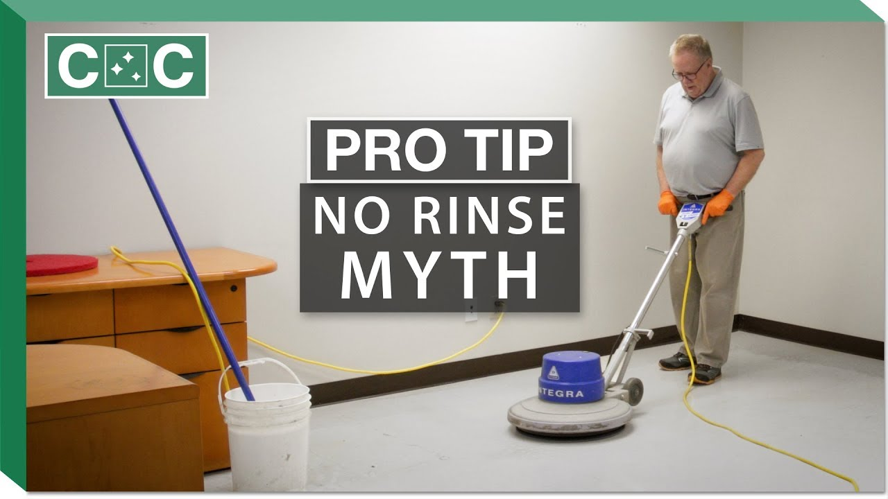 Pro Tip No Rinse Floor Stripper Myth Clean Care YouTube - Bona floor stripper