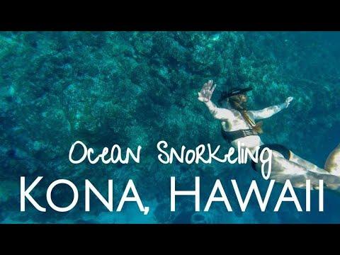 Ocean Snorkeling In Kona Hawaii!