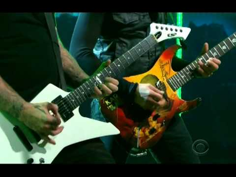 """Metallica Perform """"For Whom the Bell Tolls"""" at Craig Ferguson (2014-11-19)"""