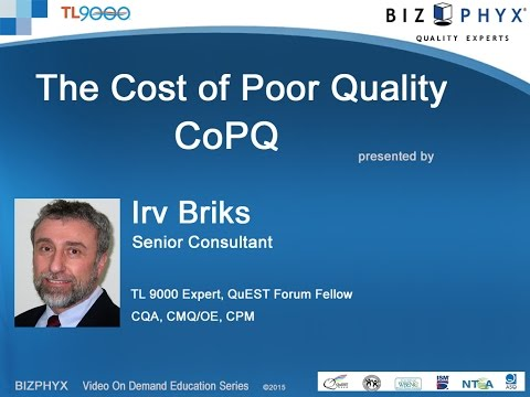 The Cost of Poor Quality And Its Impact On Profitability