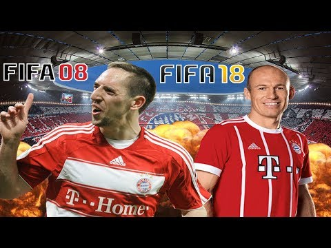 Bayern FIFA 08 vs Bayern FIFA 18 - Does Robben MISS Out?!