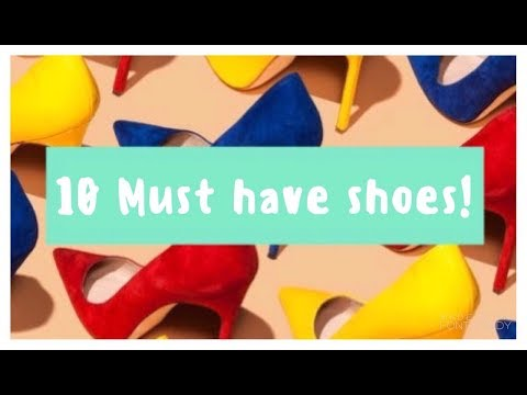 Top 10 Must Have Shoes For Girls In College !   Latest Fashion Tips   Be Stylish And Trendy