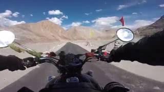 nubra valley white desert leh ladakh bike ride