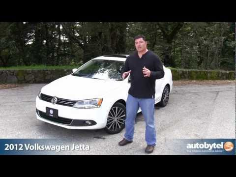 2012 Volkswagen Jetta SEL Test Drive & Car Video Review