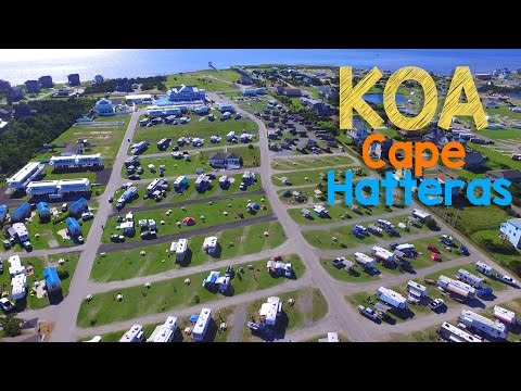Cape Hatteras KOA Resort Tour - Outer Banks NC - Rodanthe Campground