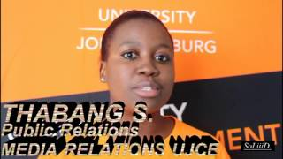 UJ varsity tv uj community engagement bunting road campus
