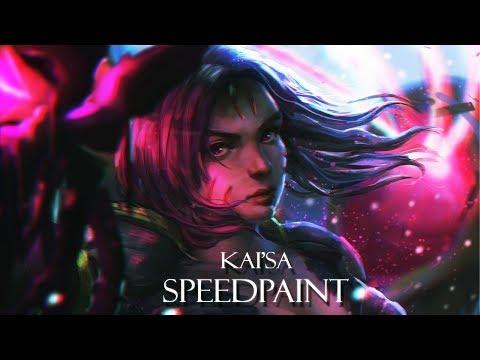 [Speedpaint] Kai'sa - League of Legends