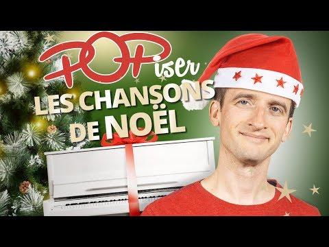 POPISER LES CHANSONS DE NOËL AU PIANO