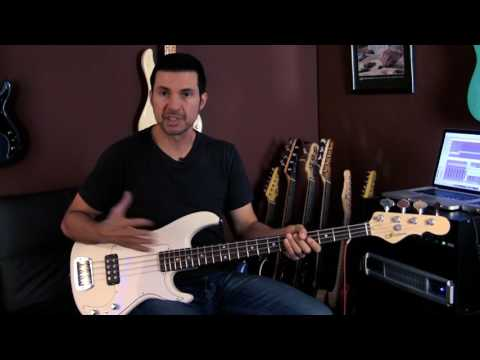 Live! At Leo's:  The New G&L Kiloton bass Full Demo with Ste