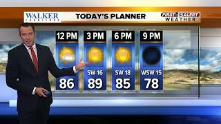 13 First Alert Weather Report for May 25