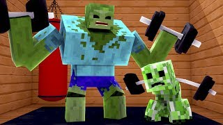 Minecraft - ACADEMIA DE MONSTROS !! - Escola Monstro #05 | Monster School