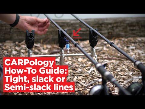 CARPologyTV - How To Fish Tight, Slack And Semi-slack Lines