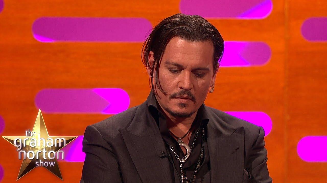 johnny depp gets emotional talking about his daughters