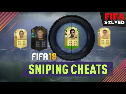 FIFA 18 Ultimate Team Sniping Cheats