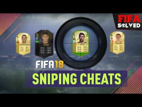 FIFA 18 Ultimate Team Sniping Cheats