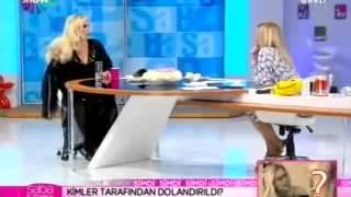 Harika Avcı canlı yayına sarhoş çıktı   Saba Tümer