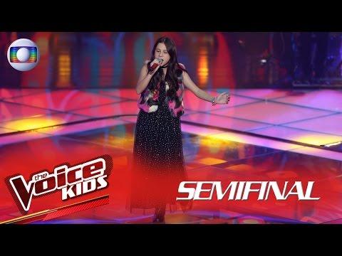 Valentina Francisco interpreta 'Maybe' no The Voice Kids Brasil - Semifinal