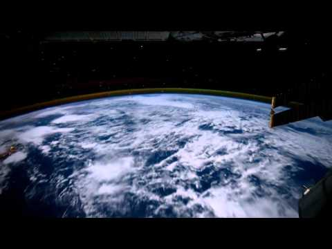 Orbiting Planet Earth: On-board NASA Satellite [720p - Fluid version]