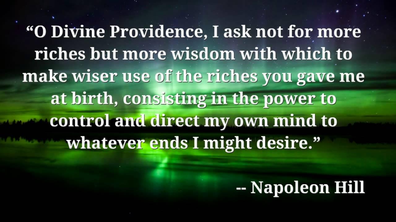 Image Result For Napoleon Hill Prayer