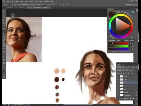 Tereza Voříšková - speed painting