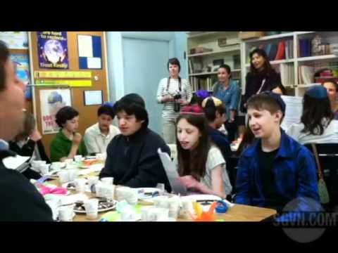Chocolate passover seder at Weizmann Day School in Pasadena