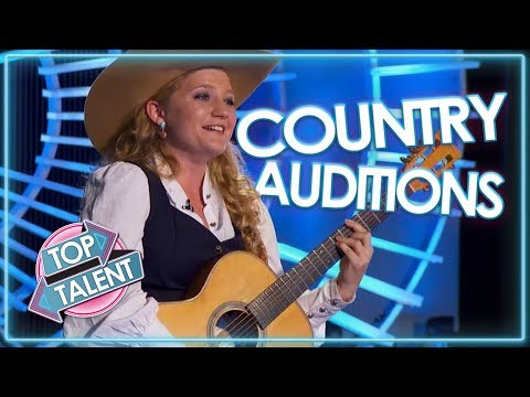 INCREDIBLE COUNTRY AUDITIONS On American Idol 2018! | Top Talent