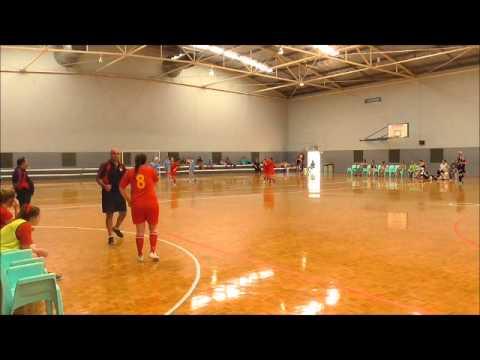 2015 AFA Futsal Nationals Youth Women - SA Futsal v NSW Manning