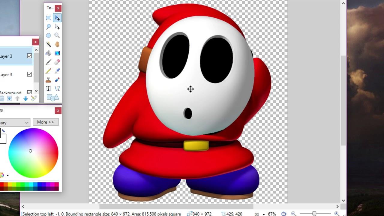 Shy Guy Ohne Maske