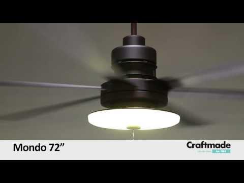 Craftmade Mondo Ceiling Fan Collection Youtube