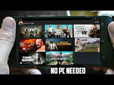 How to play PC games in android 2019 new 3 latest apk