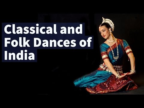 Classical & Folk Dances of India - Static General Knowledge