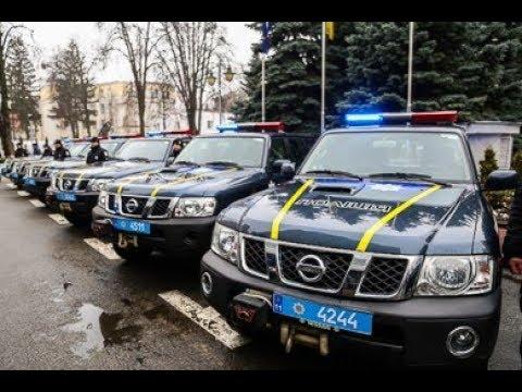 Місія Євросоюзу передала Нацполіції 30 позашляховиків для роботи у важкодоступних регіонах України