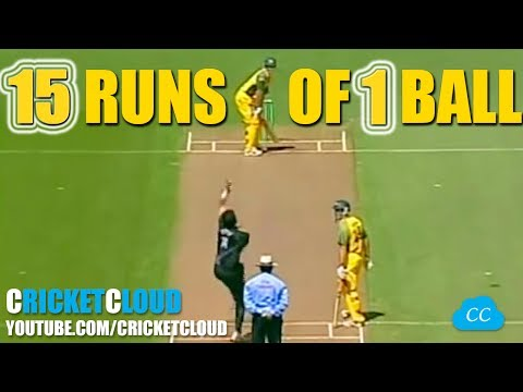 Thumbnail: 15 RUNS OF 1 BALL - AUS VS NZ !! Unlucky Day for the Bowler !!