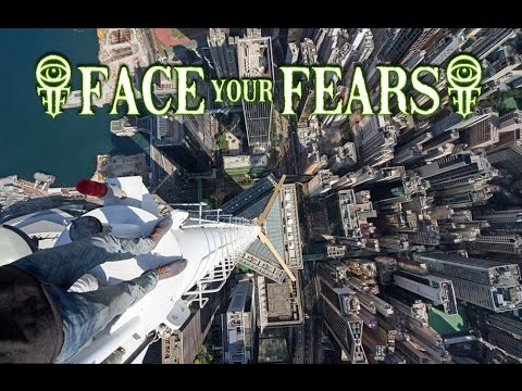 FALLING FROM A HUGE BUILDING IN VR!!! - Face Your Fears (Gear VR)