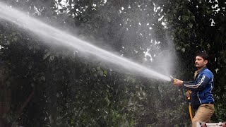 Spraying several lakh litres of water across Delhi may not get you clean air