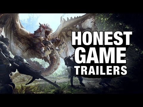 MONSTER HUNTER WORLD (Honest Game Trailers)