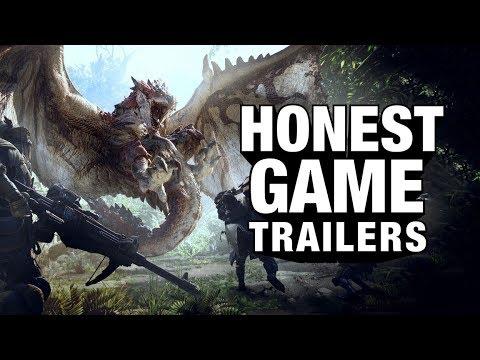 MONSTER HUNTER WORLD (Honest Game Trailers) thumbnail