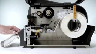 видео Принтер штрих-кода Zebra ZT220