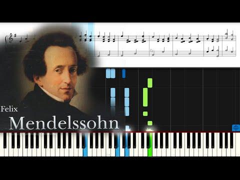 #Мендельсон Свадебный марш. Midsummer Night S Dream By Mendelssohn PIANO.