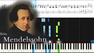 Мендельсон, Свадебный марш. Midsummer Night s Dream by Mendelssohn PIANO.