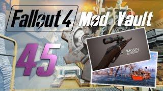 FALLOUT 4: Mod Vault #45 : Mosin Nagant - Sniper Rifle