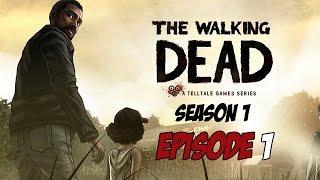 The Walking Dead - Season 1 - Episode 1 - Game Movie