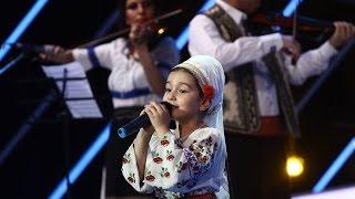 Ariana Moiescu a interpretat o melodie din muzica populară, la Next Star!