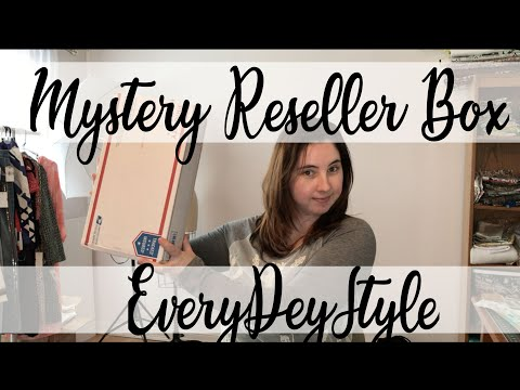 Repeat EveryDeyStyle Reseller Mystery Box Unboxing & Review