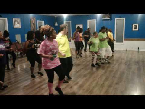 J & J  - Over & Over Line Dance