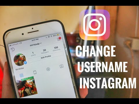 How can i change my name on instagram