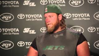 Nick Mangold on Geno Smith incident: 'It's a first for me'